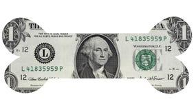 One Dollar Bone Royalty Free Stock Photography