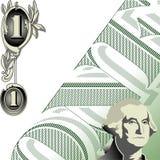 One dollar illustration Stock Photos