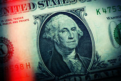 One dollar Royalty Free Stock Photos