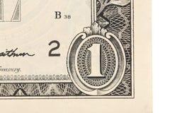 One dollar. Royalty Free Stock Photos