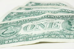 One dollar - Money Royalty Free Stock Images