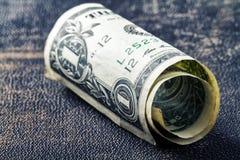 One dollar stock image