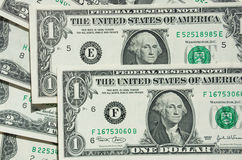 One-dollar bill Stock Photo