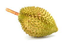 One durian isolated Royalty Free Stock Images