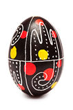 One Easter Egg Pysanka Royalty Free Stock Images