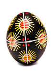One Easter Egg Pysanka Stock Photo