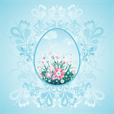 One easter eggs, vector Royalty Free Stock Photos