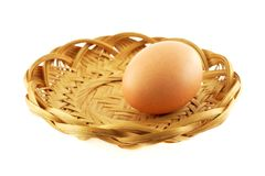 One egg royalty free stock images