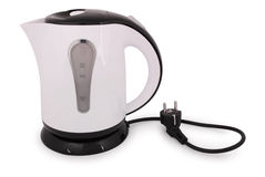 One electric kettle (Clipping path) Royalty Free Stock Photography