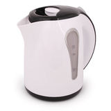 One electric kettle (Clipping path) Royalty Free Stock Photos