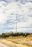One electric windmill Stock Photography