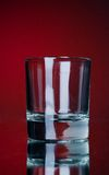 One empty glass Royalty Free Stock Photo