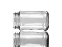 One empty jar Royalty Free Stock Images