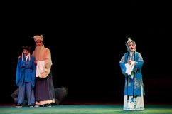One encounter-Jiangxi opera� Breeze Pavilion Royalty Free Stock Image