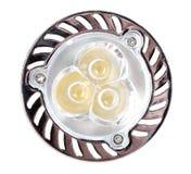 3-LED energy-saving lamp Stock Images
