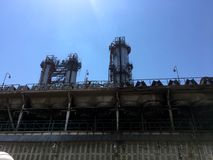 One of the enterprises of the oil refinery. oil economy, oil petroleum, Stock Images