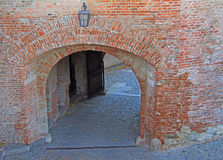 One of entrance to Spilberk Castle Stock Image