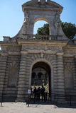 One of the Entrances to the Palatine Hill in Rome Italy Stock Photo