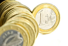 One euro Stock Photo