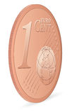 One euro cent Stock Photography