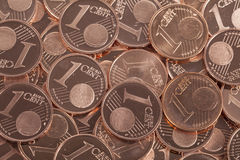 One Euro cent Royalty Free Stock Photos