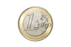 A one euro coin Stock Image