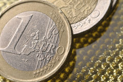 One euro coin Stock Image