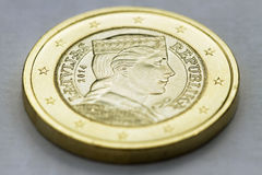One euro coin. Stock Image
