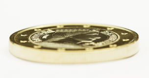 One euro coin. Stock Photos
