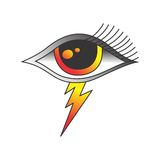 One eye of god Royalty Free Stock Photo