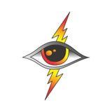 One eye of god Stock Images