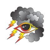 One eye of god Stock Image