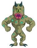 One eye Monster. Eps 10  illustration Design Stock Images