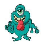 One-eyed Monster Royalty Free Stock Images