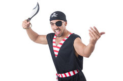 One eyed pirate Royalty Free Stock Photo