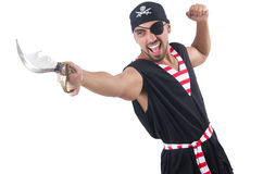 One eyed pirate Royalty Free Stock Images