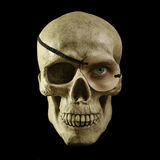 One eyed skull Stock Photos