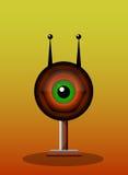 One-Eyed varelse, illustration vektor illustrationer
