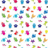 One Eyes seamless  pattern Royalty Free Stock Images