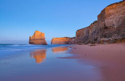 One of the famous twelve Apostles. One Apostle of the famous twelve Apostles rock formations on the Great Ocean Road, Victoria, Australia royalty free stock images