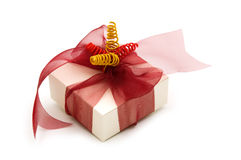One  fancy gift box Royalty Free Stock Photography