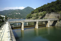 Tai Tam Reservoir, Hong Kong Stock Image