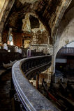 One Fell Swoop. The interior of an abandoned Detroit church Royalty Free Stock Photos