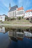 One Fine Day in Český Krumlov Royalty Free Stock Photos