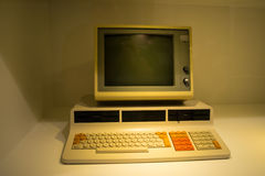 One of the first computers Stock Photo