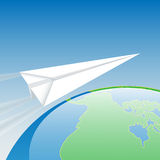 One Flew Over the World Royalty Free Stock Photo