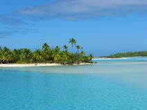 One Foot Island, Cook Islands Royalty Free Stock Photography