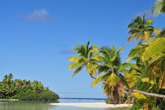 One Foot Island, Cook Islands Stock Photos