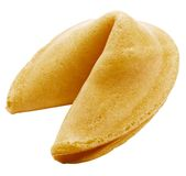 One fortune cookie Stock Photography