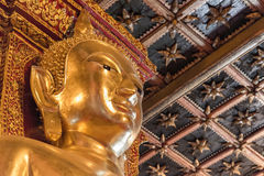 One of four direction gold buddha image Stock Photography